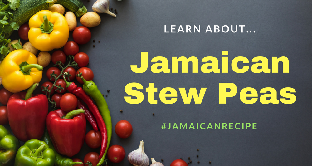 jamaican stew peas recipe with pigs tail
